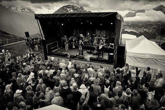 ENGADIN St. Moritz: Festival da Jazz - Open Air auf Muottas Muragl. (Bild: ENGADIN St. Moritz By-line: swiss-image.ch/Matthias Heyde)