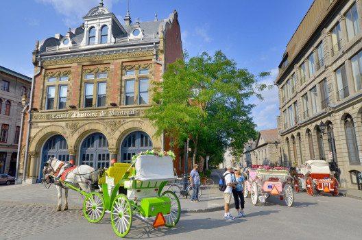 Am ursprünglichsten wirkt Vieux-Montréal, die Altstadt. (Bild: Meunierd – Shutterstock.com)