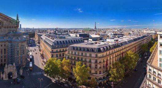 Blick vom Dach der Galeries Lafayette auf Paris (Bild: © Slavko Sereda - shutterstock.com)