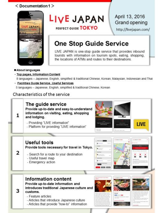 Ein neuer Reiseführer-Service für ausländische Japan-Besucher (Bild: Gurunavi, Inc.)