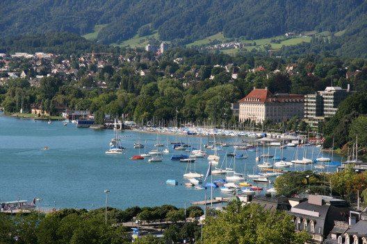Der Zürichsee bietet Erholung pur. (Bild: © Tupungato - shutterstock.com)