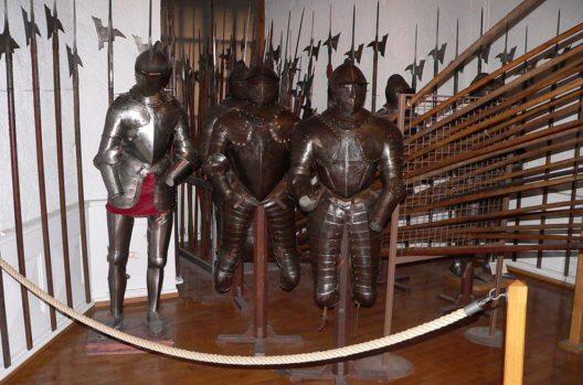 Das Schloss beherbergt vier Museen. (Bild: Rama, Wikimedia, CC)