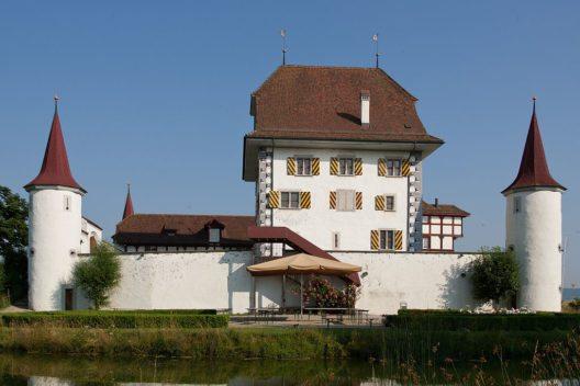 Wasserschloss Wyher in Ettiswil (Bild: Roland Zumbuehl, Wikimedia, GNU)