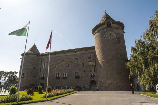 Schloss Morges (Slatin, Wikimedia, CC)