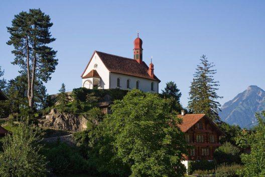 Kapelle St. Borromäus in Flüeli-Ranft (Bild: Ikiwaner, Wikimedia, GNU)