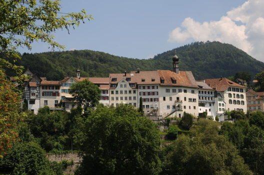 Lichtensteig – liebenswertes Städtli im Toggenburg. (Bild: böhringer friedrich)