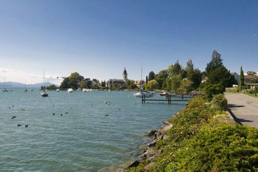 Morges am Genfersee (Bild: Slatin, Wikimedia, CC)