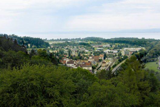 Rheineck von Südosten aus gesehen (Bild: Martin Lindner, Wikimedia, CC)