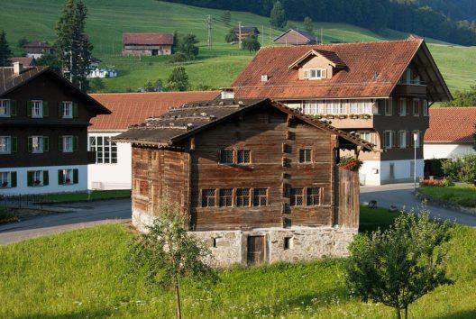 Geburtshaus von Bruder Klaus auf Ranft (Bild: Roland Zumbuehl, Wikimedia, CC)