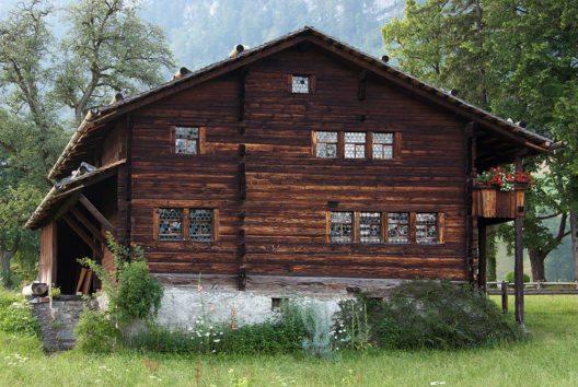 Wohnhaus von Bruder Klaus in Flüeli-Ranft (Bild: Roland Zumbuehl, Wikimedia, CC)