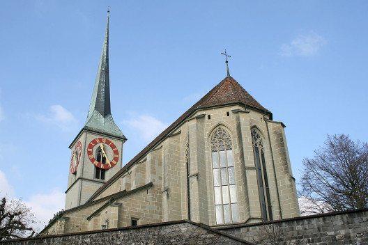 Die Stadtkirche Burgdorf (Bild: Mike Lehmann, Wikimedia, CC)