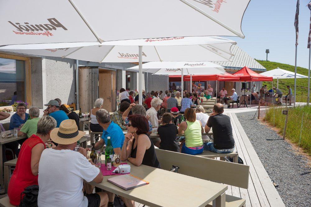 Alprestaurant Panüöl (Bild: © Werner Knüsel)