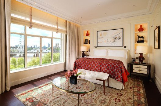 Savoy Suite, Schlafzimmer (Bild: Fairmont Hotels & Resorts)