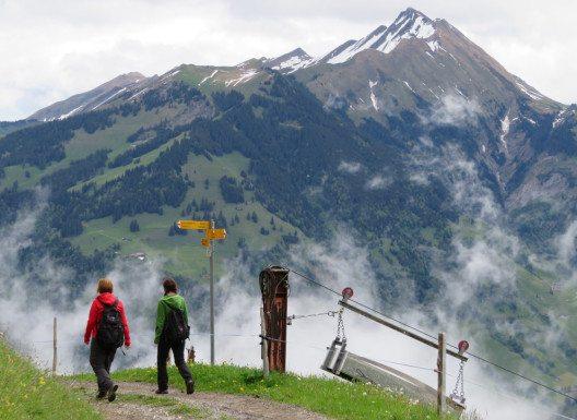 Wanderer Oberalp (Bild: Engelberg-Titlis Tourismus, Marco Zemp)