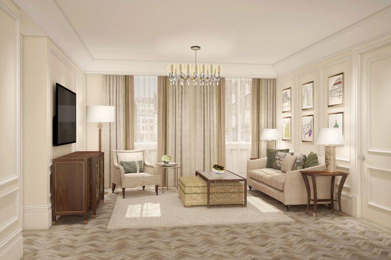 Suite Salon (PRNewsFoto/The Langham)