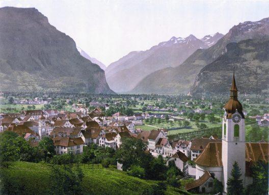 Altdorf um 1900 (Bild: © Kazuyanagae, Wikimedia, GNU)