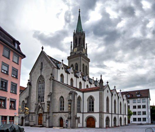 Die Stiftskirche St. Gallen (Bild: © And_Ant - shutterstock.com)