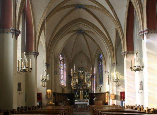 Die Preimskirche in Bad Gastein (Bild: Usien, Wikimedia, GNU)