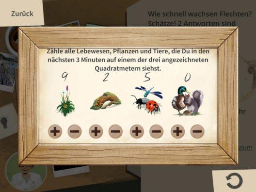 Biodiversitätszähler (Bild: Stadtgärtnerei Basel)