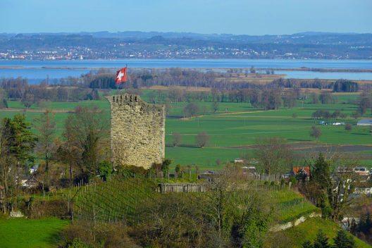 Burgruine Alt-Rheineck (Bild: Böhringer Friedrich, Wikimedia, GNU)
