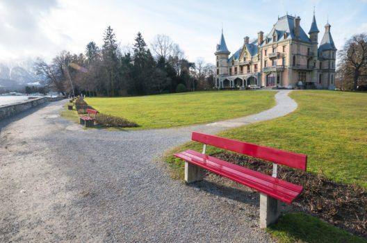 Das wunderschöne Schloss Schadau in Thun. (Bild: © Fat Jackey - shutterstock.com)