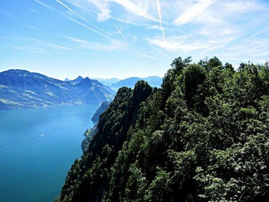 Aussicht vom Hammetschwand-Lift Richtung Osten (Bild: Tschubby, Wikimedia, GNU)