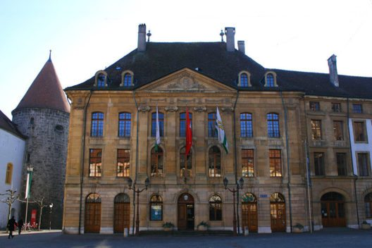 Hôtel de Ville in Yverdon-les-Bains (Bild: Olivier Anh, Wikimedia, GNU)