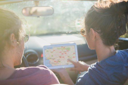 Routenplaner - perfekt kompatibel mit Tablets und Smartphones (Bild: Symbolbild © Jack Frog - shutterstock.com)
