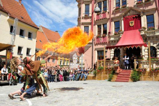 Tänzelfest in Kaufbeuren (Bild: © Tänzelfestverein)