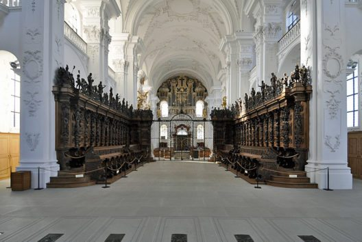 Inneres der Klosterkirche St. Urban (Bild: Andreas Faessler, Wikimedia, CC)