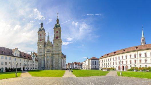 Die Stiftskirche St. Gallen (Bild: © LaMiaFotografia - shutterstock.com)