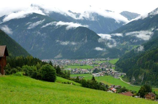 Mayrhofen im Zillertal (Bild: Werudolf, Wikimedia, GNU)