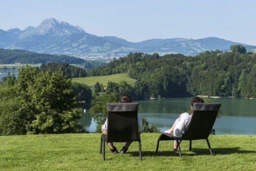 Sommer am Wasser – Greyerzersee. (Bild: Fribourg Region)