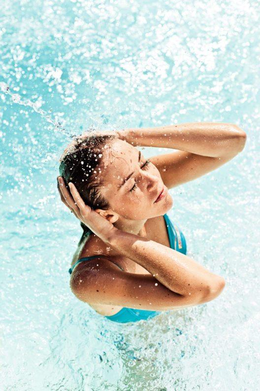 Thermalwasser kann gegen Stress helfen