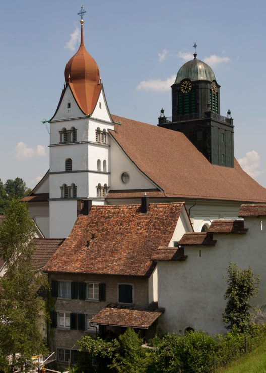 Pfarrkirche St.Peter und Paul in Willisau (Bild: Roland Zumbuehl, Wikimedia, GNU)