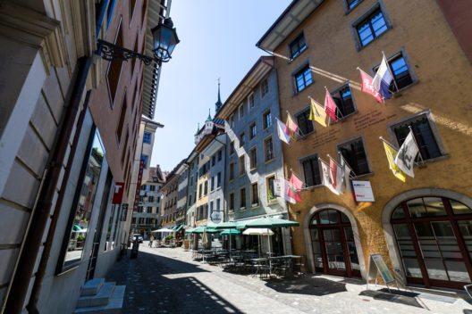 Die Altstadt von Baden (Bild: Oscity – Shutterstock.com)