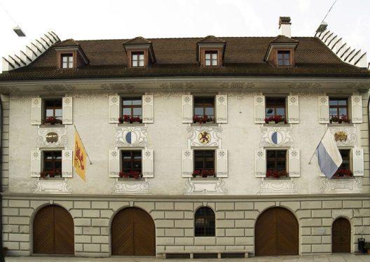 Rathaus von Willisau (Bild: maeuse, flikr, CC)