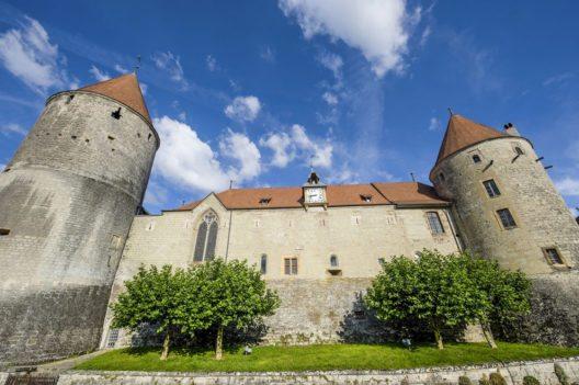 Das Schloss von Yverdon (Bild: Claudio Giovanni Colombo – Shutterstock.com)
