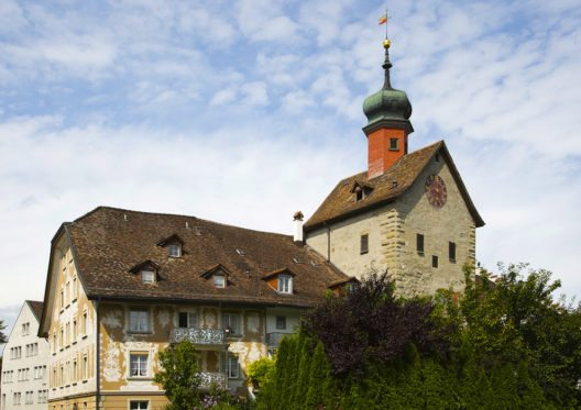 Bogenturm in Bischofszell (Bild: MARGRIT HIRSCH – Shutterstock.com)