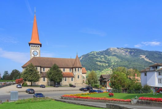 Katholische Kirche Goldau (Bild: Denis Linine – Shutterstock.com)