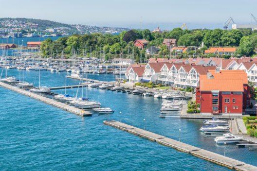 Der Hafen von Stavanger (Bild: © Gordon Bell - shutterstock.com)