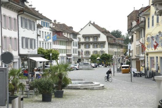 Die Altstadt von Sursee (Bild: Nienetwiler, Wikimedia, CC)
