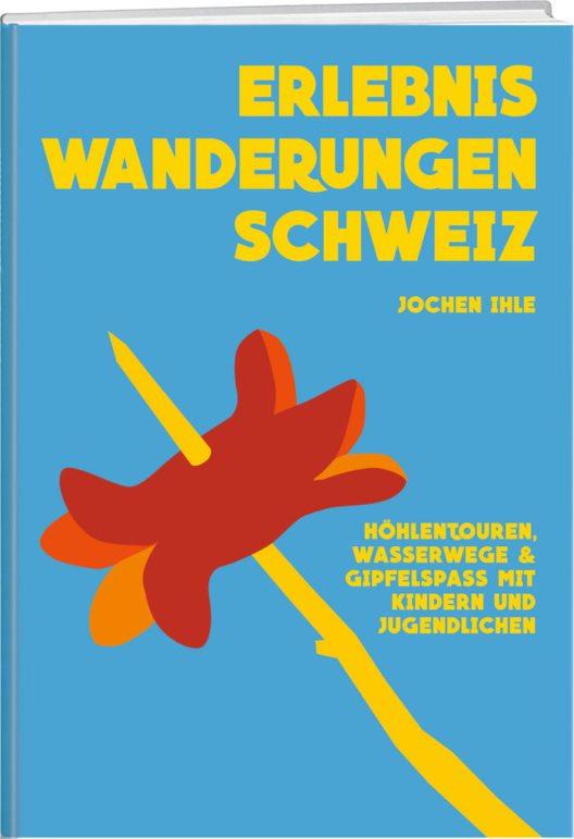 """Das Buch """"Erlebniswanderungen Schweiz"""" präsentiert spannende Wanderwege. (Bild: © Werd & Weber Verlag AG)"""