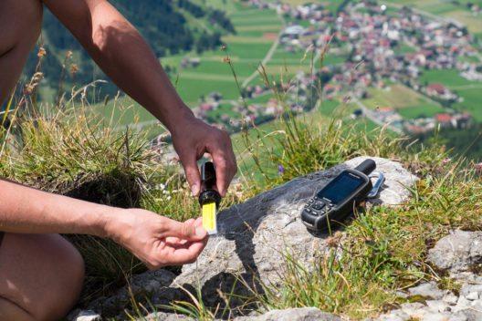 Geocaching im Tannheimer Tal (Bild: Tourismusverband Tannheimer Tal)