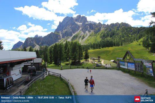 Rotwand - Bergstation Umlaufbahn (Bild: © Dolomiti SuperSummer)