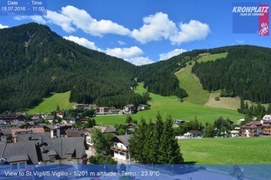Sicht auf S.Vigilio/St.Vigil (Bild: © Dolomiti SuperSummer)