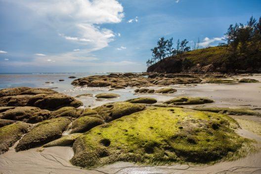 An der Nordspitze Borneos (Bundesstaat Sabah, Malaysia) liegt Malaysias grösstes Meeresschutzgebiet: der Tun Mustapha Park. (Bild: © WWF-Malaysia / Mazidi Abd Ghani)
