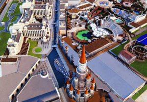Birds Eye View of The Land Of Legends (PRNewsFoto/Rixos Hotels)