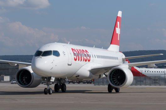 Die CS100 bietet Platz für 125 Fluggäst. (Bild: © SWISS)