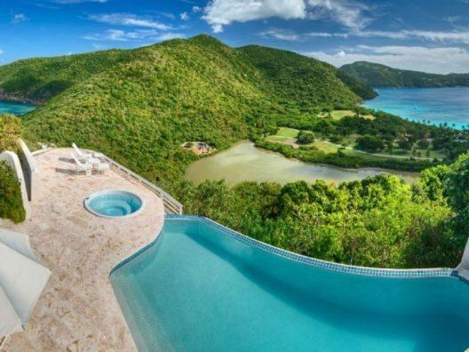 Nur von Wasser umgeben - auf der Privatinsel Gana in der Karibik. (Bild: © Tripping.com)